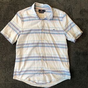 Men's VVines Short Sleeve Button Down